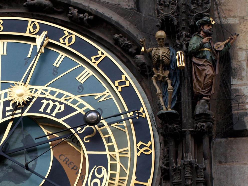 Прага Астрономические Часы Орлой
