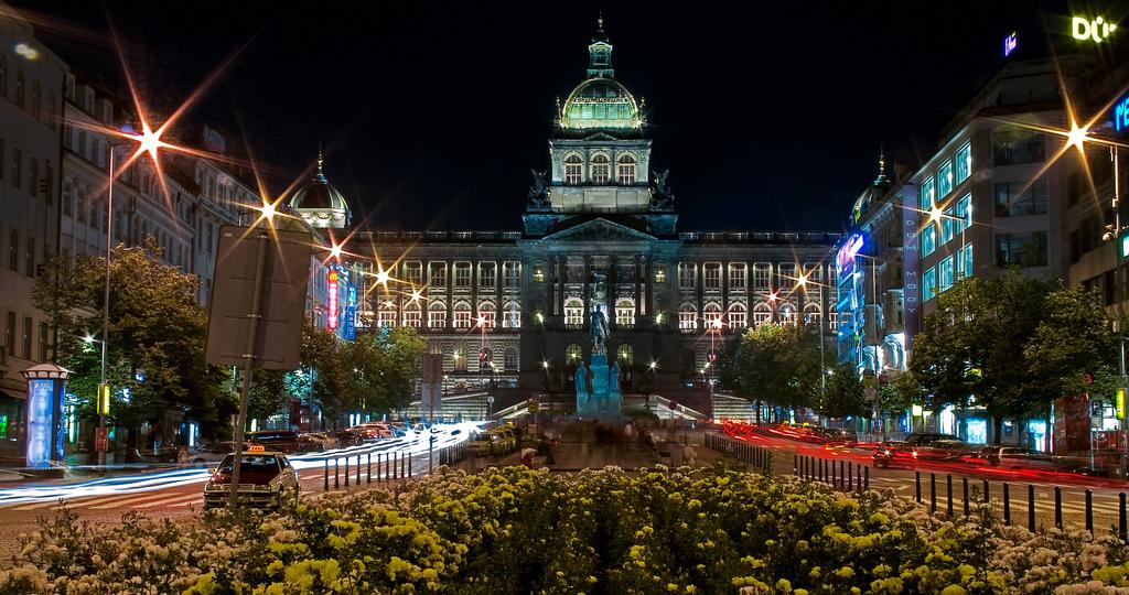 Прага Вацлавская Площадь